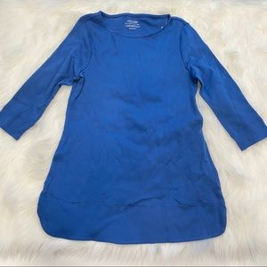 Chico's ultimate tee Royal Blue size x small, NWT